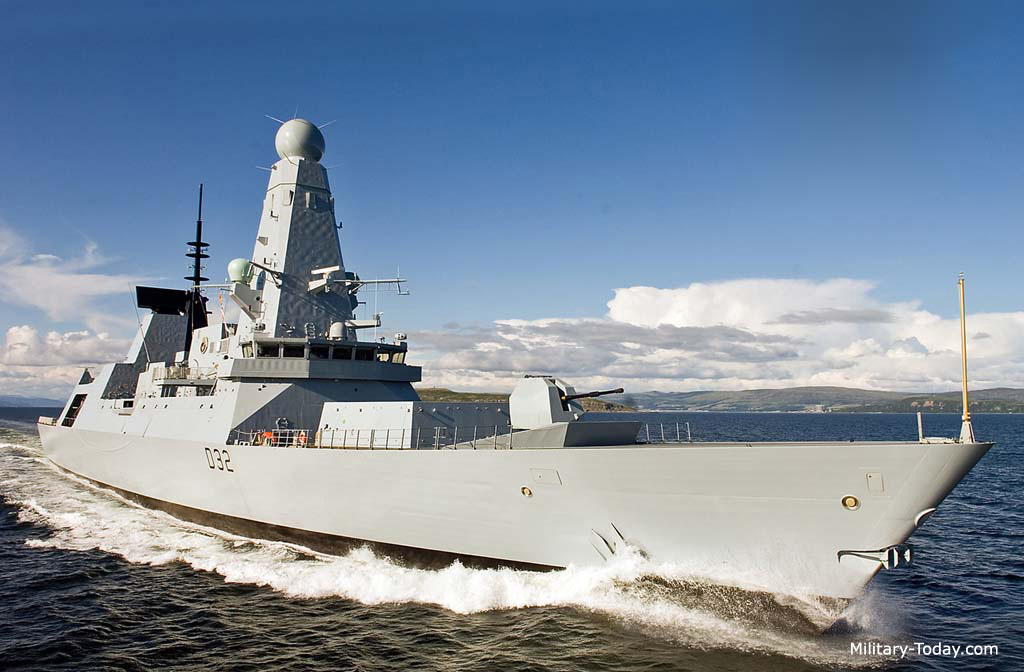 type 45 daring class images