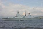 Type 45 Daring class destroyer