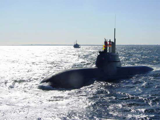 U-212A class submarine