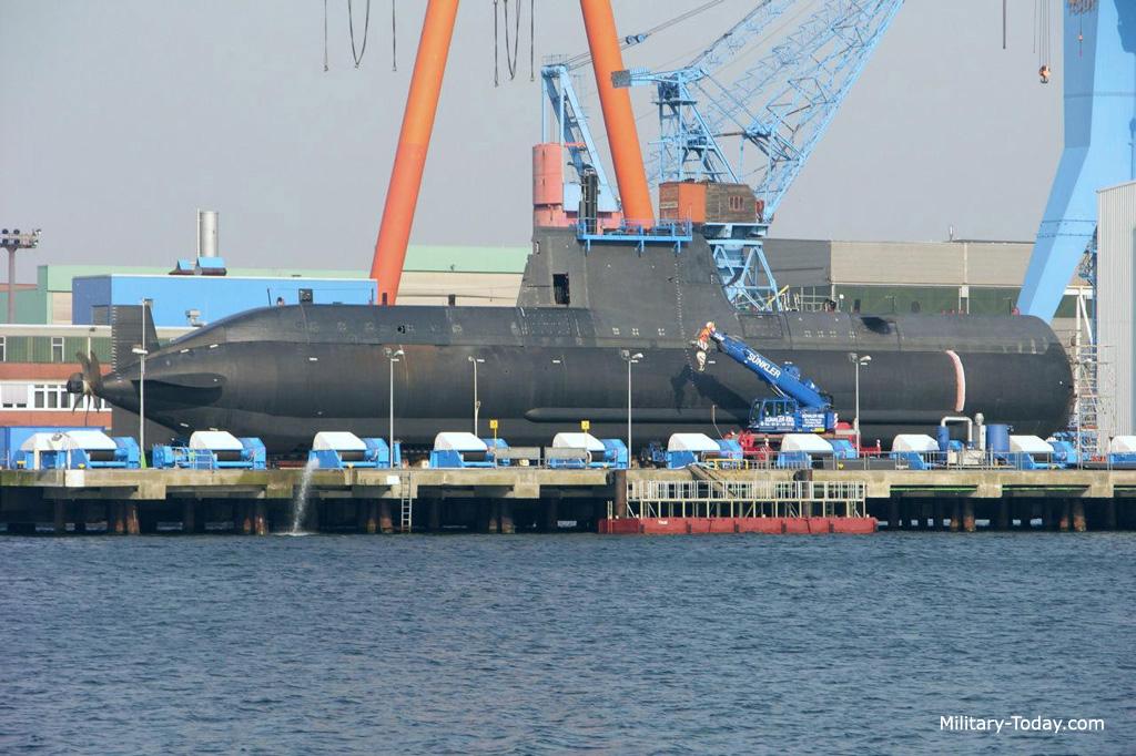 Novos U 214 para Coréia do sul