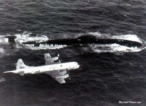 Submarinos Nucleares en servicio en Rusia