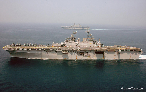 List of amphibious assault ships