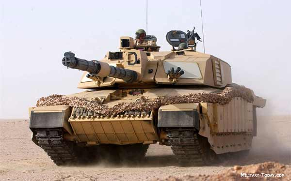 is one of the most protected main battle tanks in the world