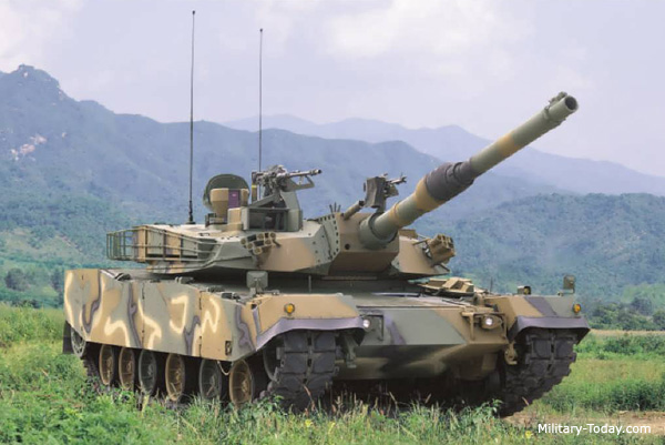 K1a1 Main Battle Tank Military Today Com