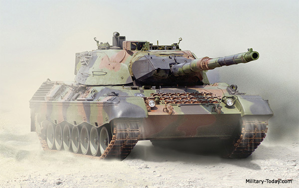 Leopard 1 Main Battle Tank | Military-Today com