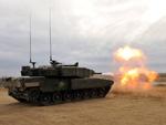 Leopard 2A4M tank