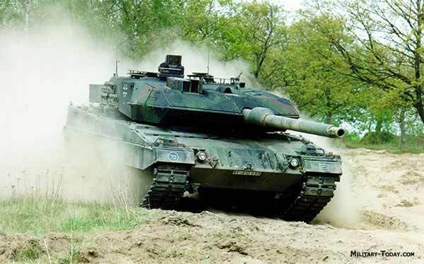 2A6 is currently one of the best main battle tanks in the world