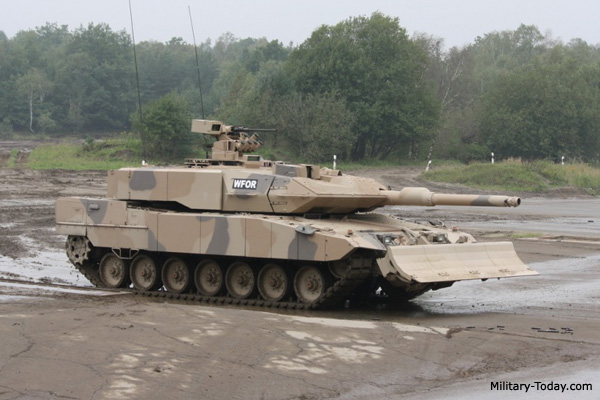 nr 1 leopard 2a7 germany