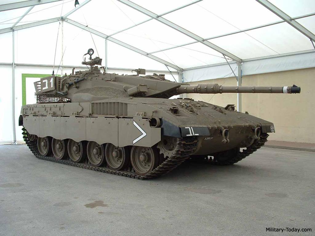 Merkava Mk.2 tank