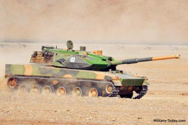 New Chinese Light Tank | Military-Today.com