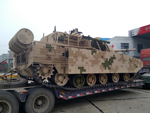 New Chinese light tank