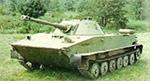 PT-76 tank