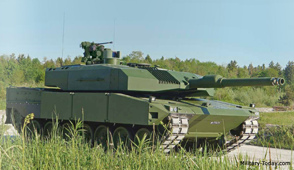Finnish Defence Forces Leopard 2a4