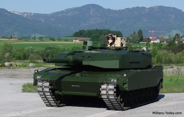 RUAG Leopard 2 Upgrade Main Battle Tank | Military-Today com