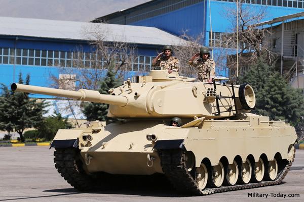 Sabalan tank