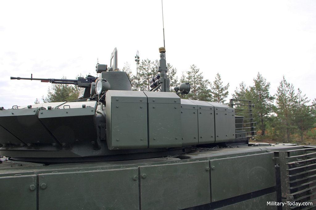 T-80BVM tank
