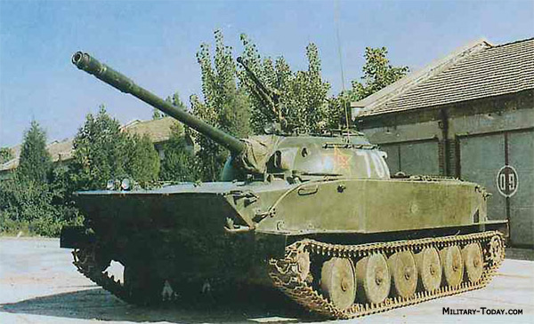 Type 63 light tank