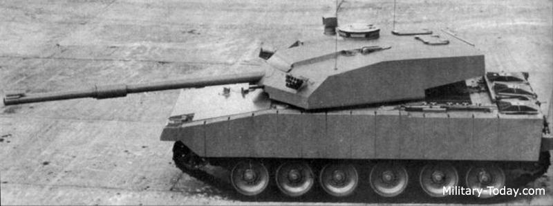 e4ab48bf58ad Vickers Mk.4 Prototype Main Battle Tank