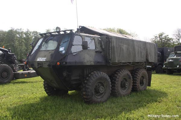 Alvis Stalwart Amphibious Cargo Vehicle Military Today Com