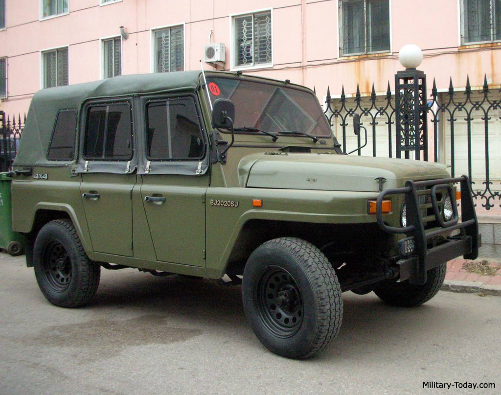 Military Jeep For Sale >> Beijing BJ2020 Images