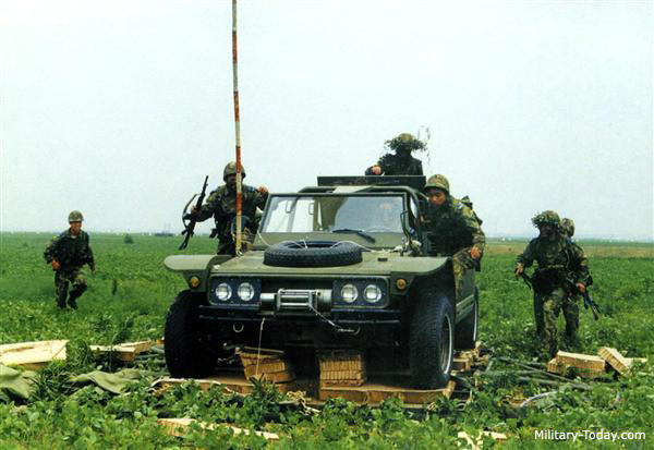 Chinese fast attack vehicle