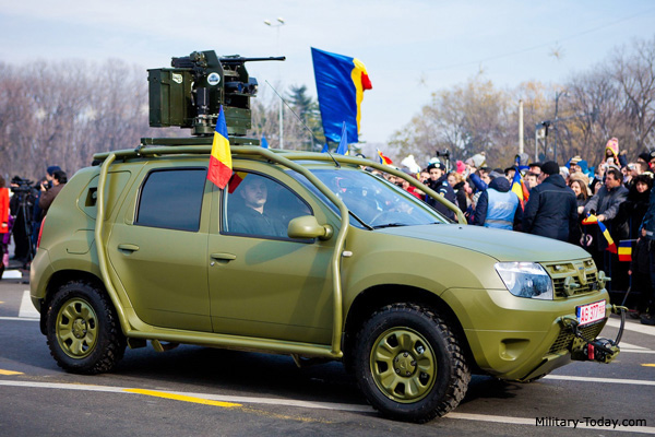 dacia duster light utility vehicle military. Black Bedroom Furniture Sets. Home Design Ideas