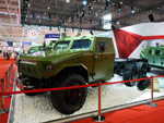 Dongfeng EQ2101EB armored vehicle with 6x6 configuration