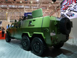 Dongfeng EQ2101MCTB armored vehicle with 6x6 configuration