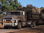 International Harvester tank transporter