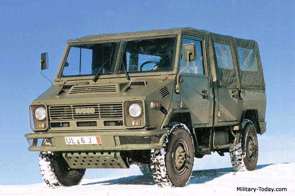 IVECO M40 10 Light Utility Vehicle | Military-Today com