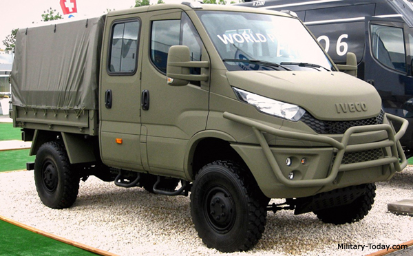 Iveco Daily 4x4 Military