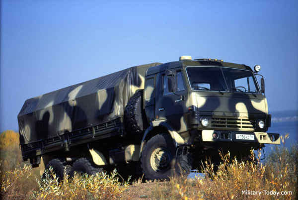 KamAZ-5350, best military truck in the world today