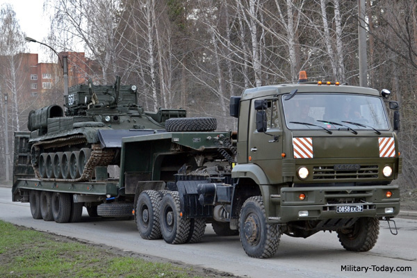 KamAZ-65225 Tank Transporter |...