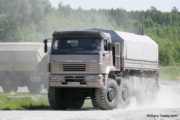 Army Heavy Duty Trucks : Kamaz heavy utility truck military today
