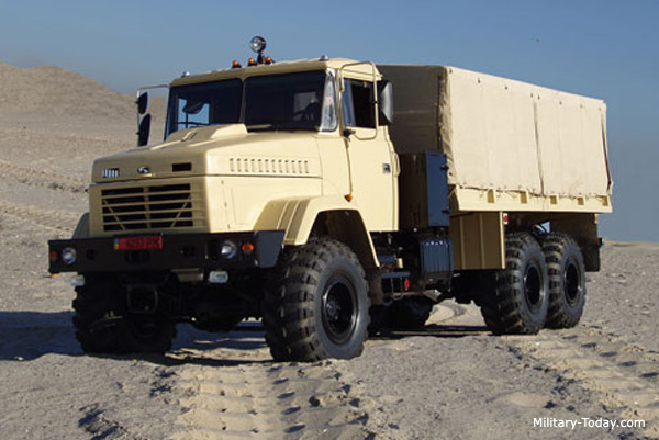 KrAZ-6322, world's best military trucks