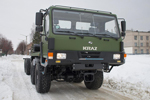 KrAZ-7634 special wheeled chassis