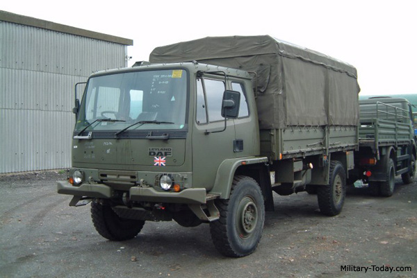 Leyland Daf T244 General Utility Truck Military Today Com