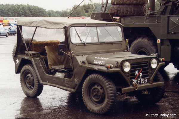 M151 Mutt Light Utility Vehicle Military Today Com