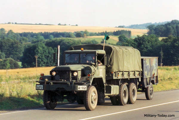 M809 General Utility Truck Military Today Com