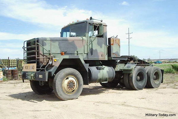 Light Equipment Transport : M tractor truck military today