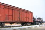 MAZ-6303KH railroad vehicle