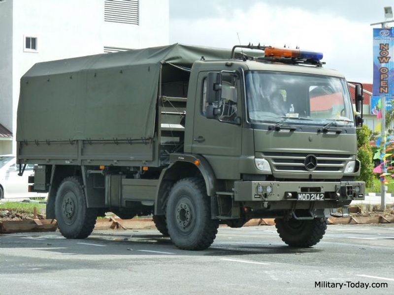 Mercedes-Benz Atego II Images: www.military-today.com/trucks/mercedes_atego_2_images.htm