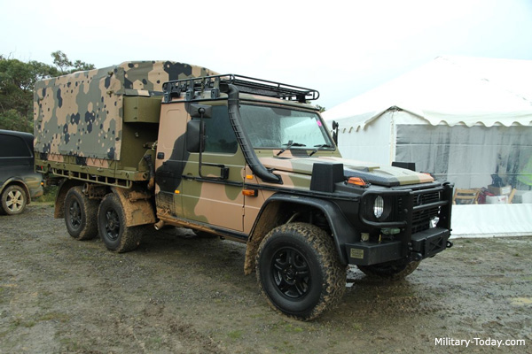 Mercedes-Benz G-Class 6x6 Light Utility Vehicle | Military ...
