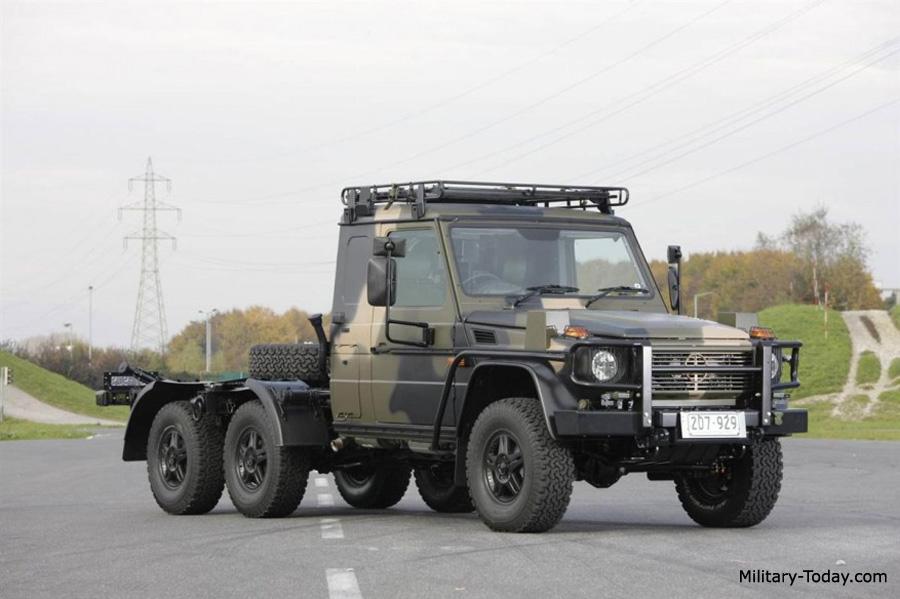 Mercedes-Benz G-class 6x6
