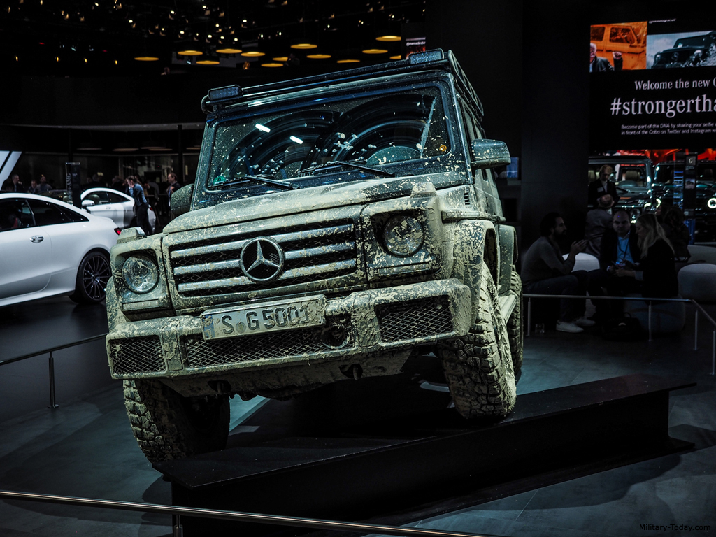 Mercedes G Wagon >> Mercedes-Benz G-Class (Second Generation) Images