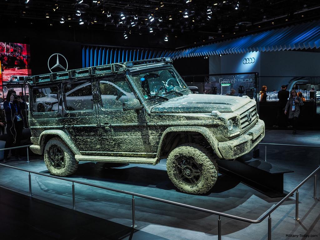 Mercedes Benz G Class Second Generation Images