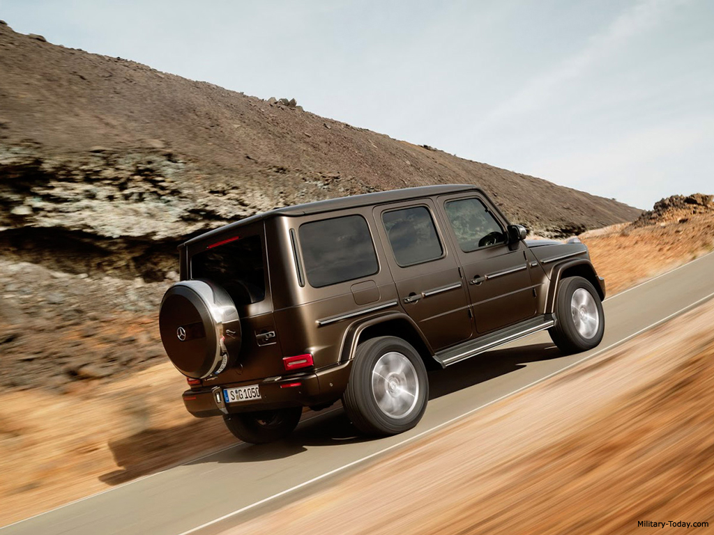 Mercedes benz g class second generation images for Mercedes benz utility vehicle