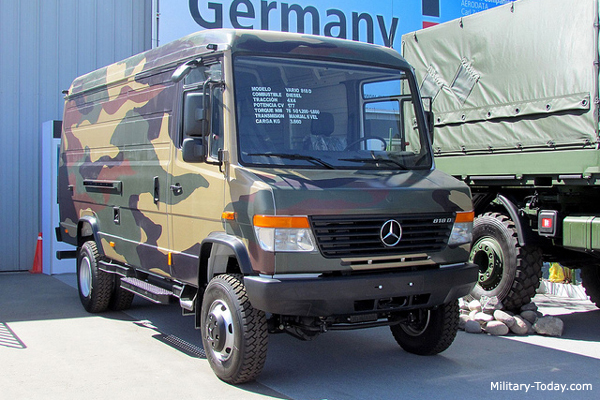 Mercedes Benz Vario Light Utility Vehicle Military