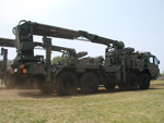 Mitsubishi 8x8 special wheeled chassis