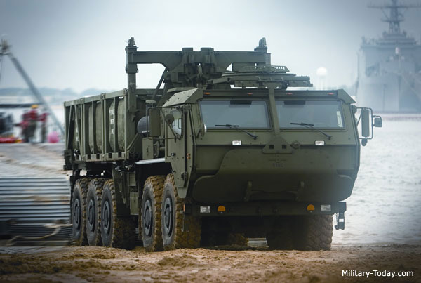 LVSR military truck, most powerful military truck